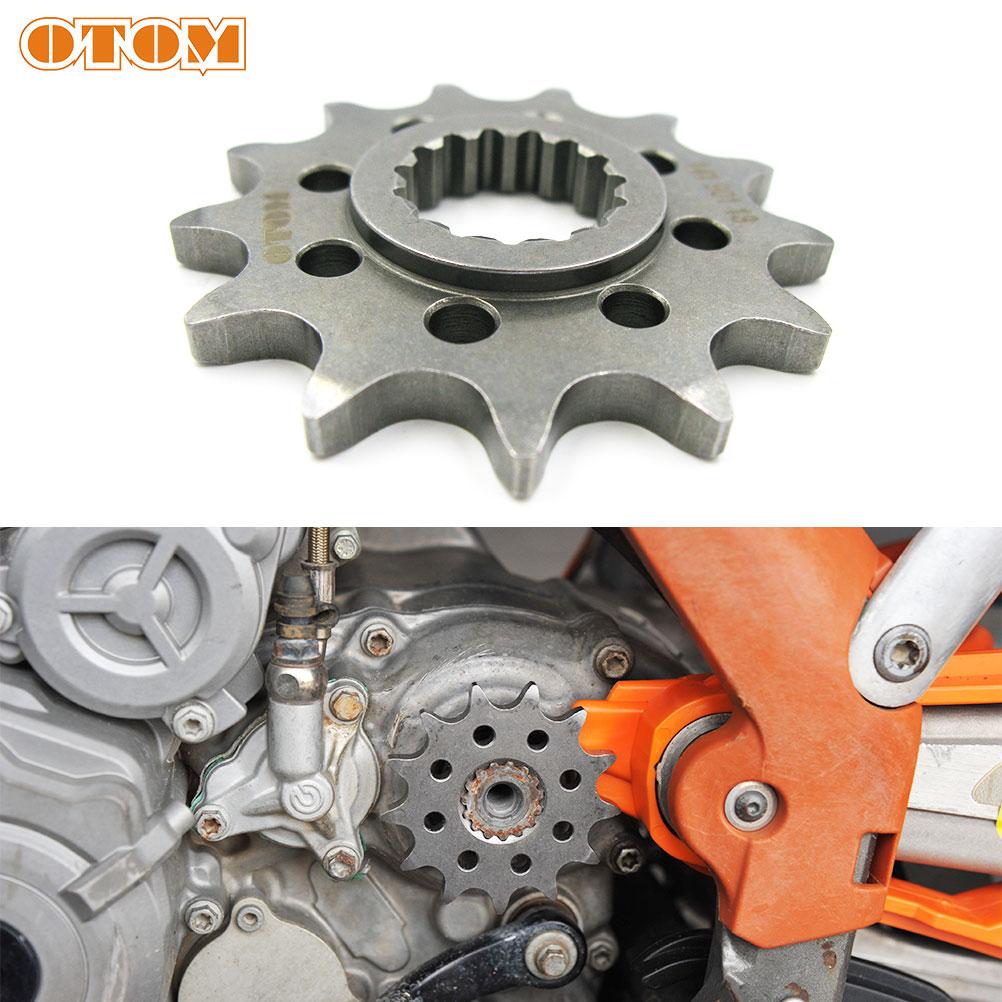 OTOM 13T Vor Kettenrad Für KTM Off Road MX SX SX-F EXC XCF-W 125 200 250 300 450 525 Enduro Motocross Racing Kette Rad