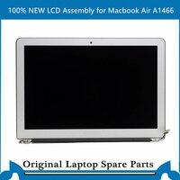 Macbook air 13 인치 a1466 lcd 스크린 디스플레이 패널 용 새 lcd 어셈블리 2013-2017 테스트 됨