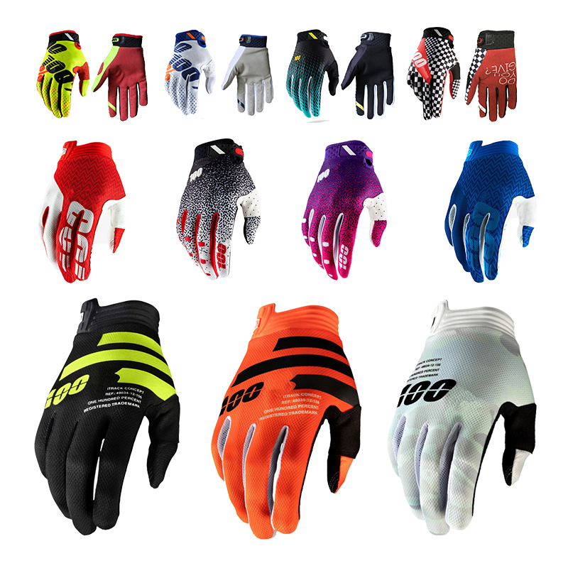 Outdoor Sports Cycling Gloves Bicycle Gloves Men's Long-fingered Off-road Motorcycle Gloves Racing Gloves MTB Gloves Full Finger