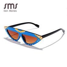 Vintage Cat Eye Sunglasses Women Fashion Retro Steampunk Sunglasses Colorful Sunglasses Men Shades Eyeglasses Eyewear UV400