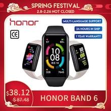 Huawei pulsera actividad Honor Band 6 reroj inteligente pantalla completa de 1,47