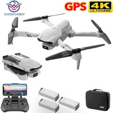 SHAREFUNBAY F10 Drone 4K 5G WiFi Video en vivo FPV Quadrotor vuelo de 25 minutos de distancia Rc 2000m GPS Drone HD ancho ángulo Dual Camer