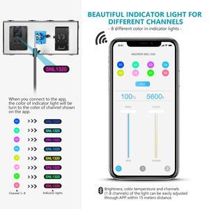 Image 4 - Neewer 1320 LED Luce Video con APP Sistema di Controllo Intelligente, dimmerabile 3200K 5600K Bi Fotografia a Colori Kit di Illuminazione