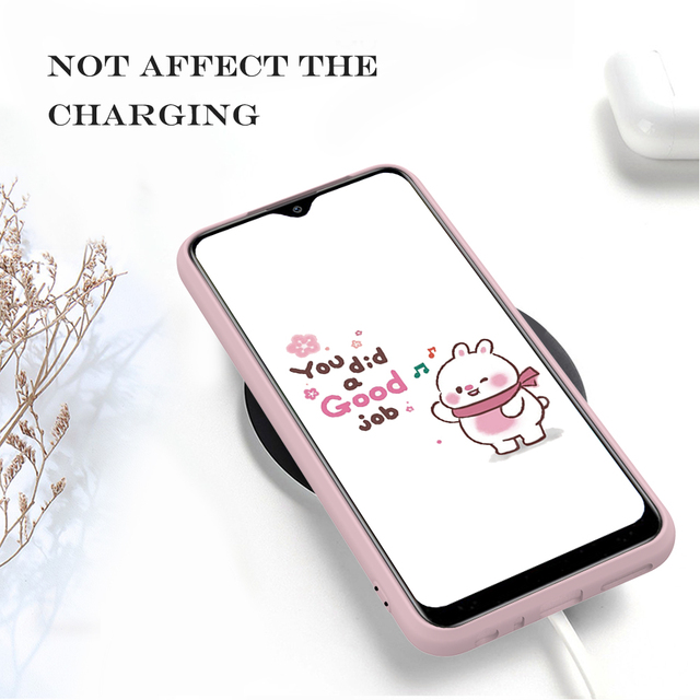 Candy Solid Color Soft Silicone Case For Xiaomi Redmi Note 8T 8 7 7A 6 6A 5 Pro Soft TPU Matte Phone Cover For Redmi Note 9 9S 5