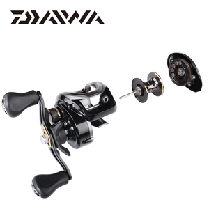 Image 4 - DAIWA CR80 Fishing reels 6.8Gear Ratio Max Drag 7kg Baitcasting Fishing Reel pesca Max Drag 7kg Low Profile Fishing reels