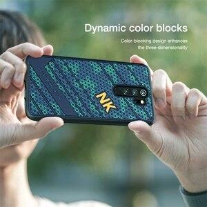 Image 5 - Capa para xiaomi redmi Note 8 pro caso nillkin striker caso 3d textura tpu silicone suavidade capa traseira para xiaomi redmi note8