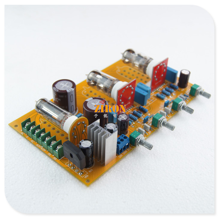 6Z4 <font><b>tube</b></font> rectification 6N11 <font><b>Tube</b></font> <font><b>Amp</b></font> Preamp Vacuum <font><b>Tube</b></font> PreAmplifier board With tone image