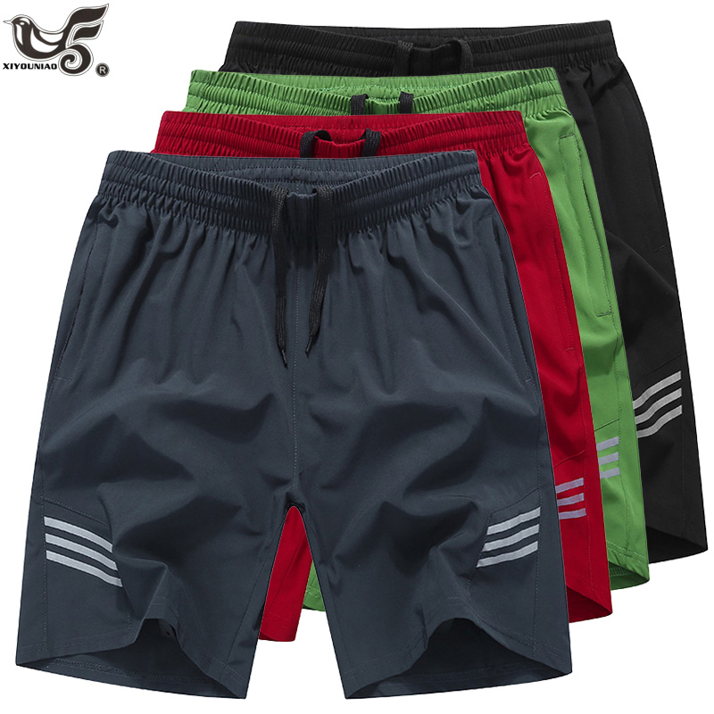 XIYOUNIAO Brand Men Shorts Acitve Cargo Workout Jogger Sweatpants Fitness Mens Beach Board Short Quick-drying Breathable Trouser