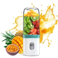 Top Sale Portable Blender USB Personal Smoothie Blender On The Go/Travel Milkshake Smoothie Ice.Mini Blenders Processor Shake Mi|Juicers|   -
