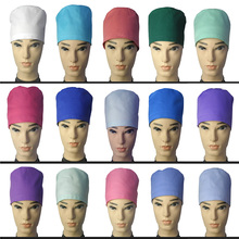 Men and women doctors printed hats, nurses headscarves, oral Dentistry, dental hospitals, beauty salons, hygiene caps.