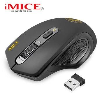 Мышь компьютерная беспроводная Бесшумная, 2000 DPI, USB