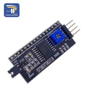 Image 2 - 1602 16 × 2 HD44780 arduinoのキャラクター 5v液晶ブルースクリーン 1602A iic/I2CシリアルPCF8574 インタフェースアダプタプレートモジュールdiyキット