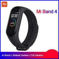 Original Xiaomi Mi Band 4 NFC Smartband Heart Rate Sleep Monitoring Sport Miband 4 Waterproof Bluetooth Touch Screen Smart Band