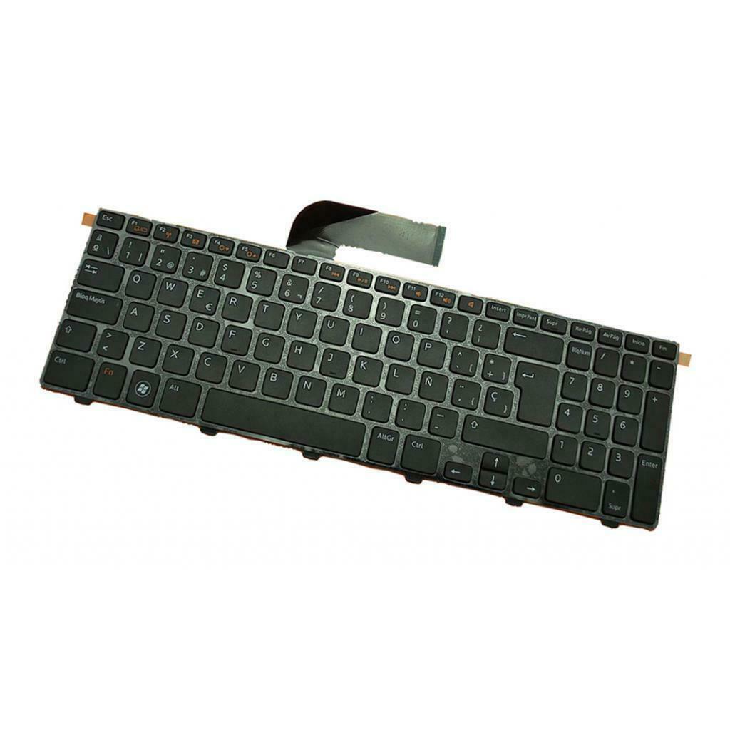 New Spanish Keyboard for Dell Inspiron 15R N5110 M5110 N 5110 Black Frame SP Laptop Keyboard