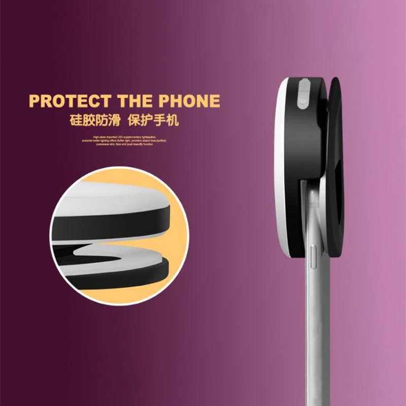 אוניברסלי Selfie LED טבעת פלאש אור נייד נייד טלפון 36 נוריות Selfie מנורת זוהר טבעת קליפ עבור iPhone 11max 7 8 בתוספת
