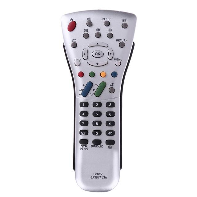 Control remoto en casa para televisor LCD, accesorios universales, reemplazo Led práctico duradero, ABS conveniente para SHARP GA387WJSA GA085WJSA