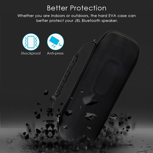 Image 2 - Protable EVA Hard Travel Protective Case For JBL charge4 charge 4 Wireless Bluetooth Speakers & Extra Space with Accessories