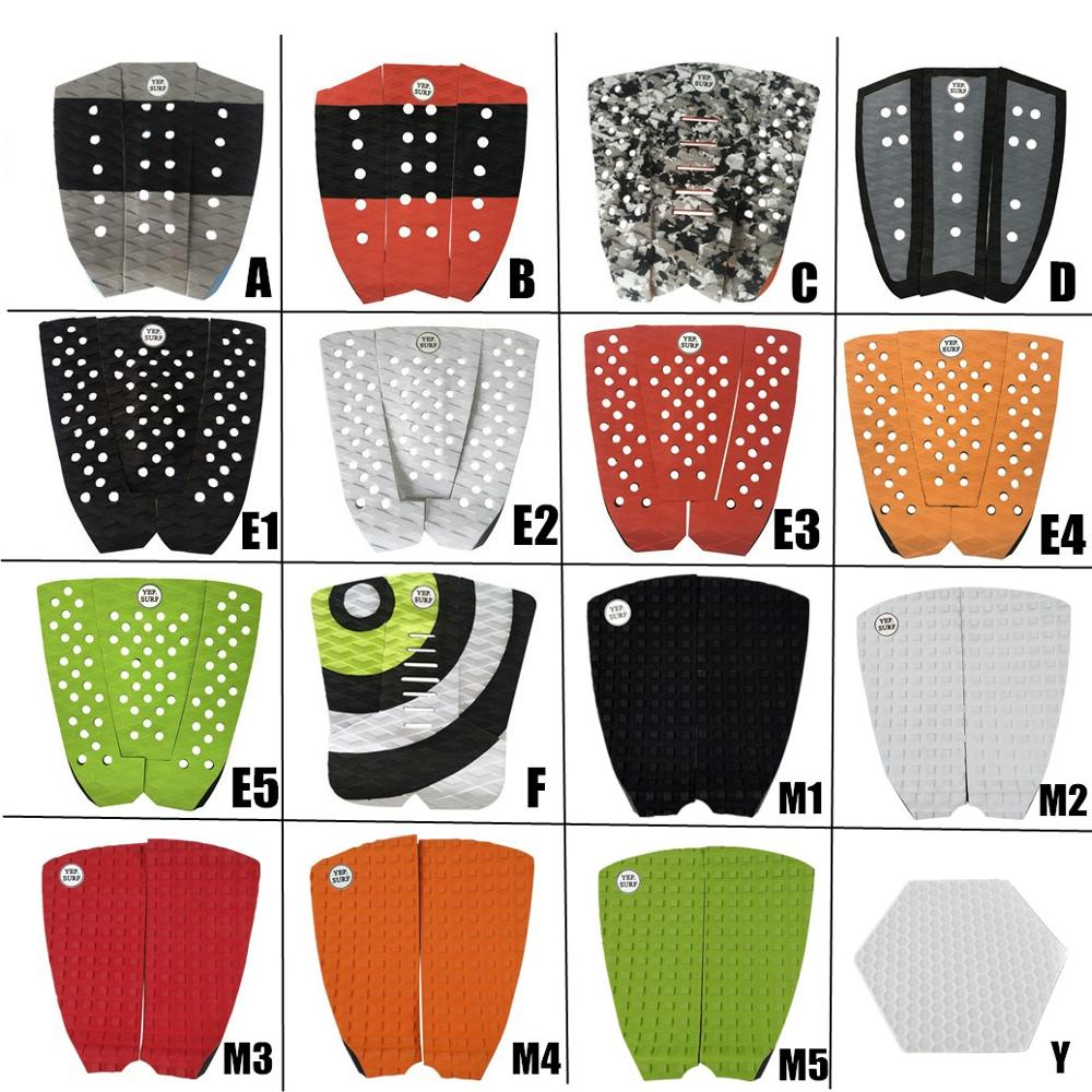 Free Shipping New Design 3M Glue Deck Pad EVA SUP Surfboard Traction Tail Pads Surf Grip Pad