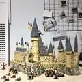 16060 Поттер фильм замок Волшебная модель 6742 шт. строительный блок кирпичи игрушки Детский подарок совместим с 71043