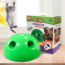 Cat Toy Cat-Catch-Mouse Cat-Supplies Funny Electric Automatic Popular New The Semicircular