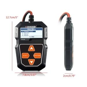 Image 3 - 2021 nowy KW208 Tester akumulatora samochodowego ładowarka analizator 12V 100 2000CCA instalacja ładująca Test