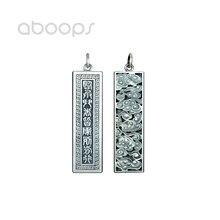 Винтажный 990 Стерлинговое Серебро Китайский даосизм девять
