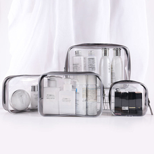 PVC Women Zipper Clear Makeup Bags Beauty Case Make Up Organizer Storage Bath Toiletry Wash Bag Travel Transparent Cosmetic Bag hanging travel cosmetic bag women zipper make up bag polyester high capacity makeup case handbag organizer storage wash bath bag