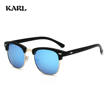 New Polarized Sunglasses Men KARL Brand Design Fashion Retro Women Driving Glasses Gafas De Sol Hombre