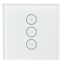 NEW-WiFi Smart Curtain Switch Smart Life Tuya for Electric Curtain Blinds Combined with Alexa and Google Home,EU Plug