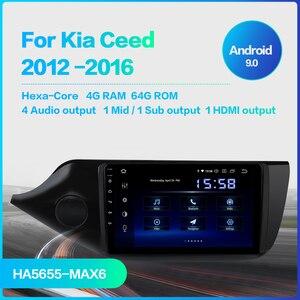 "Image 2 - Dasaita 9 ""IPS ekran araba Android 9.0 TDA7850 Kia ceed radyo 2012 2013 2014 2015 2016 otomatik Stereo navigasyon 64G ROM MAX6"