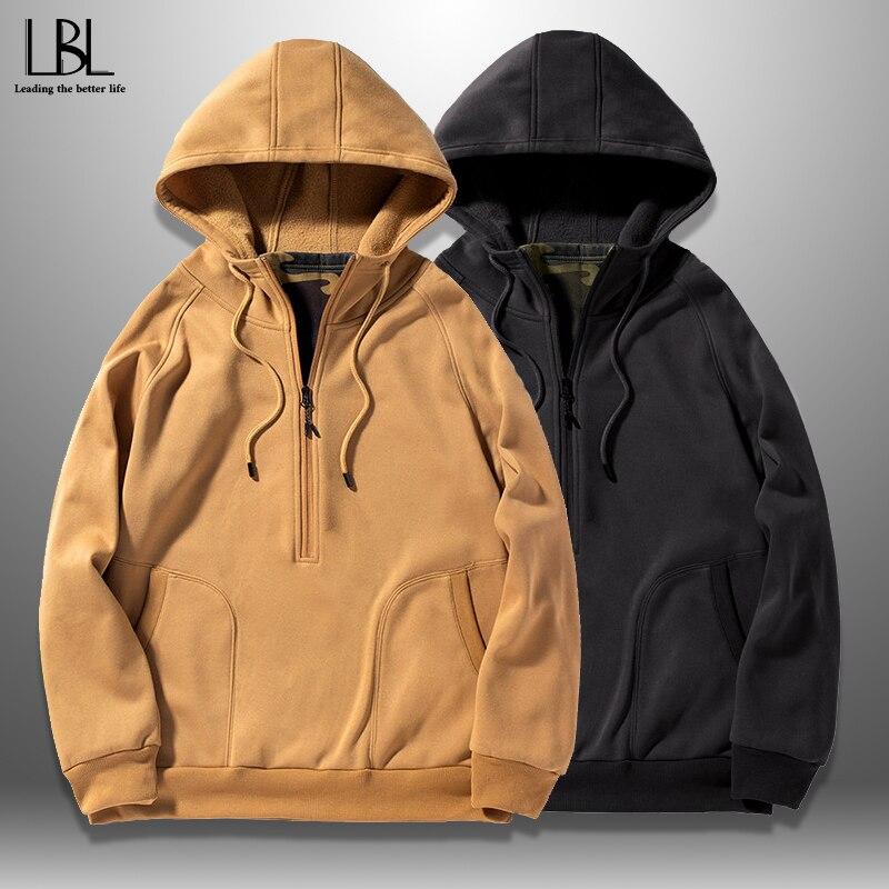 2019 New Casual Hoodie Men Hip Hop Streetwear Mens Hooded Sweatshirts Skateboard Outwear Pullover Hoodies Male Tracksuits Top
