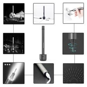 Image 3 - Dla Wowstick 1F Pro elektryczny miniśrubokręt akumulatorowy zestaw śrubokrętów LED zasilanie bateryjne litowe