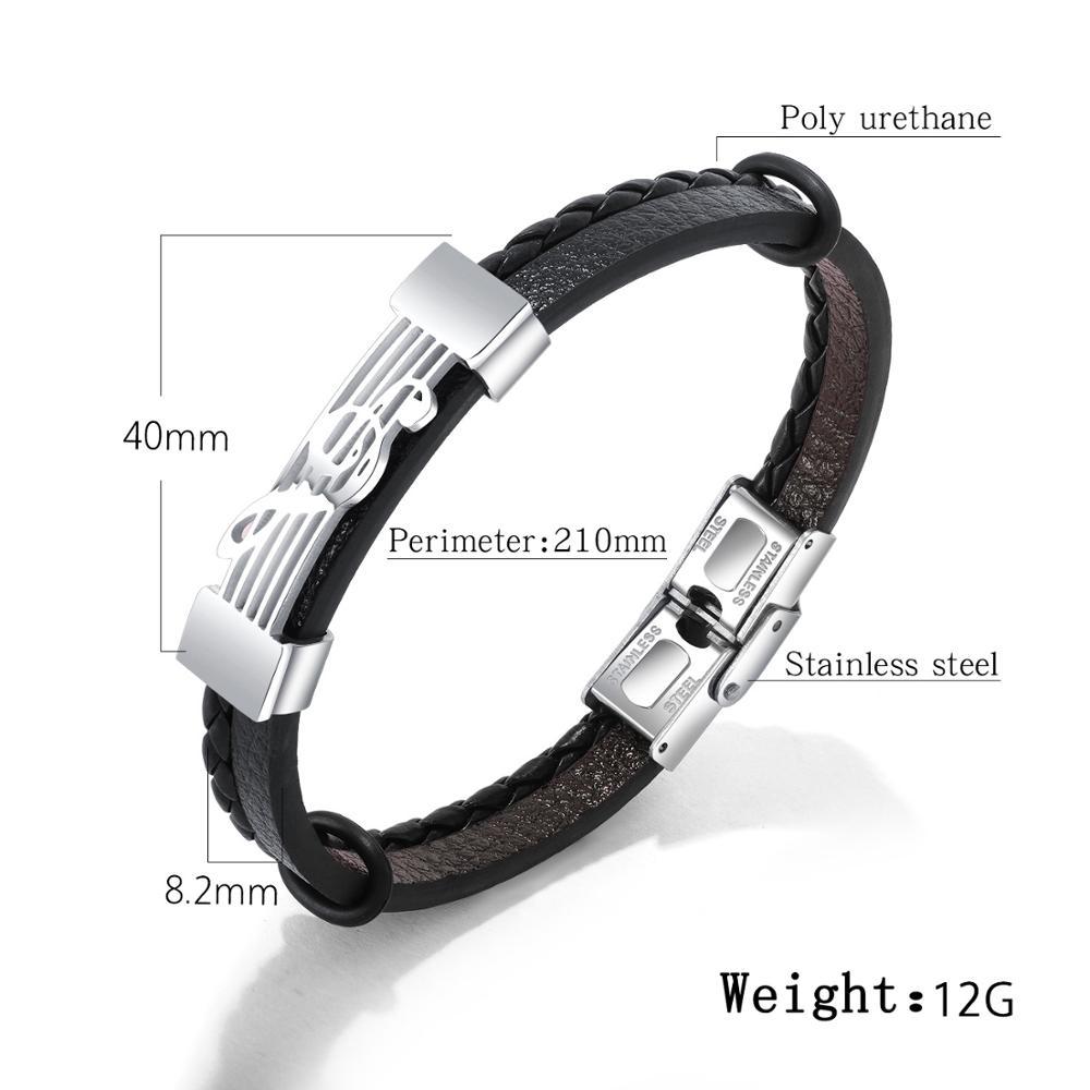 15 Styles Punk Wide Belt Men Leather Bracelet Wristband Cuff Bangle Women Gift Jewelry Hot Steampunk Handmade Accessories in Charm Bracelets from Jewelry Accessories