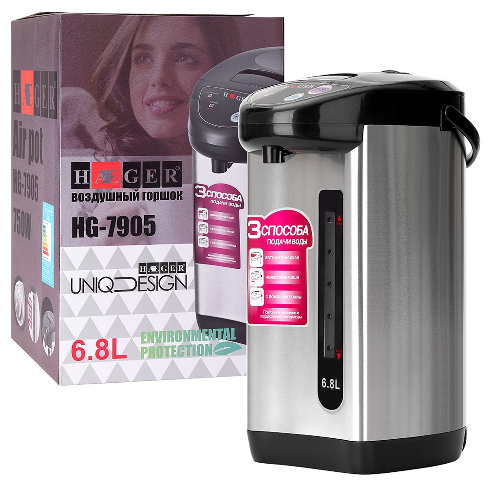 Electric Kettle Thermal Insulation Electric Kettle 6.8L Large Capacity Water Boiler Kitchen Appliances Electric 220V EU Plug