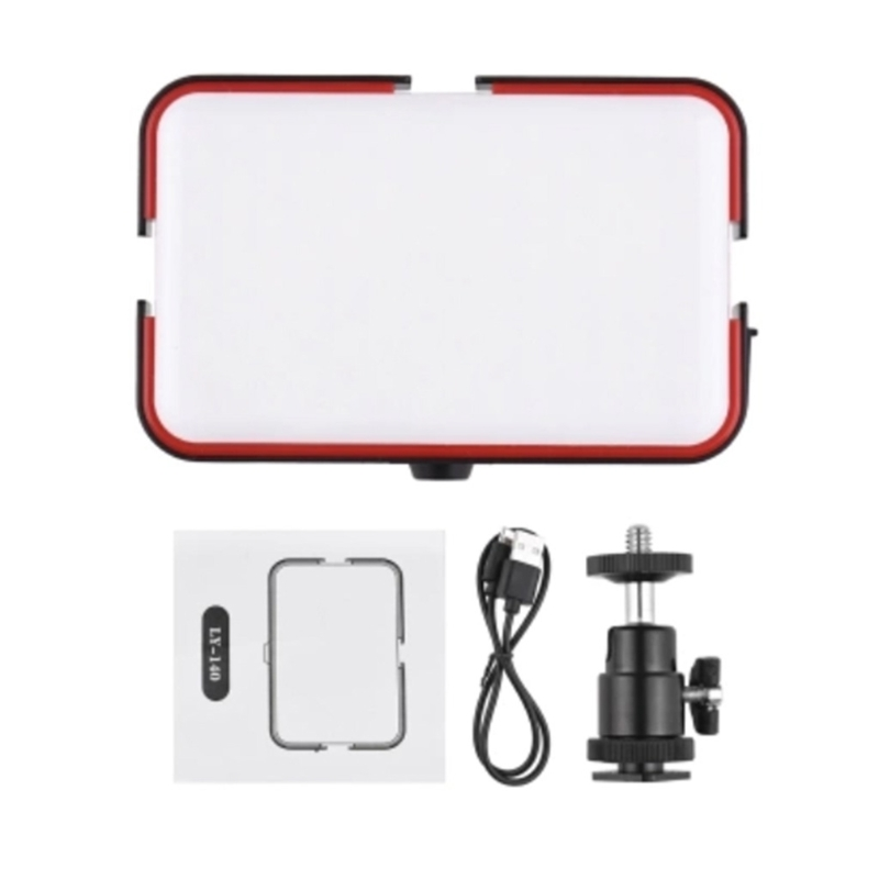 Continuous LED Video Light with Mini Panel DC 8V 3A  Bright Photo Video Light R2JF