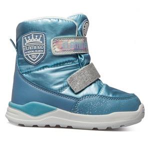 Image 3 - Ботинки Фламинго 92m qk 1629 ботинки для девочек обувь для детей 27 32 #