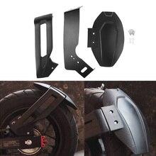 1 Pcs Motorcycle Fairing Rear Wheel Hugger Fender Mudguard For Honda Grom MSX125 SF ABS Plastic & Aluminum Mesh