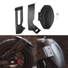 1 sztuk motocykl Fairing tylne koła Hugger błotnik błotnik dla Honda Grom MSX125 SF ABS plastikowe i aluminiowe siatki