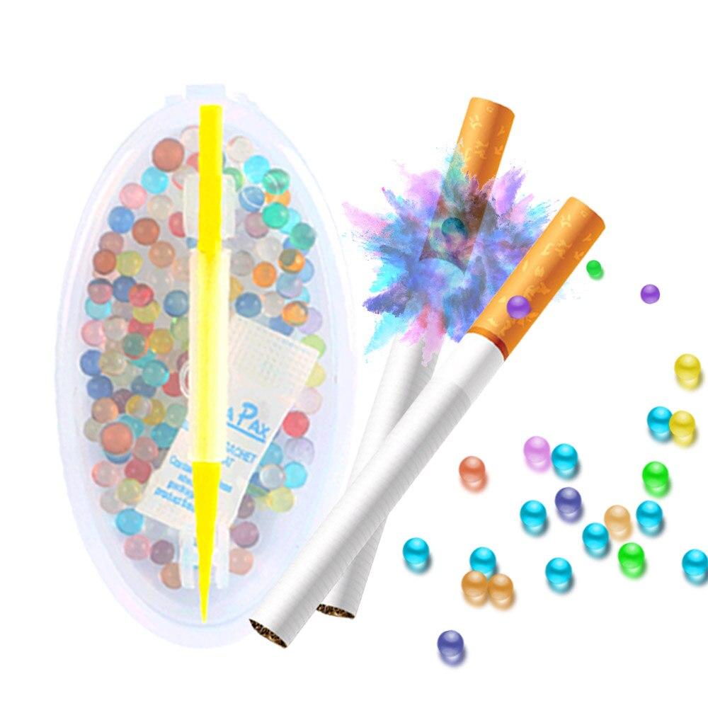 100 шт Смешанные фруктовый аромат мятным вкусом льда сигареты хлопки бусины сигареты Popping капсула для держатель для табака фильтр для инстру...