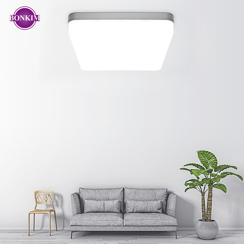 LED Ceiling Light Round Square Lamp Energy Saving 80% 18W 36W AC 220V Cold White Warm White Suitable For Different Family Styles