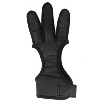 1Pc Fingers High Elastic Hand Guard Protective Archery Bow Shooting Glove for Recurve Compound Bow hunting Fit LH / RH Accessory 6