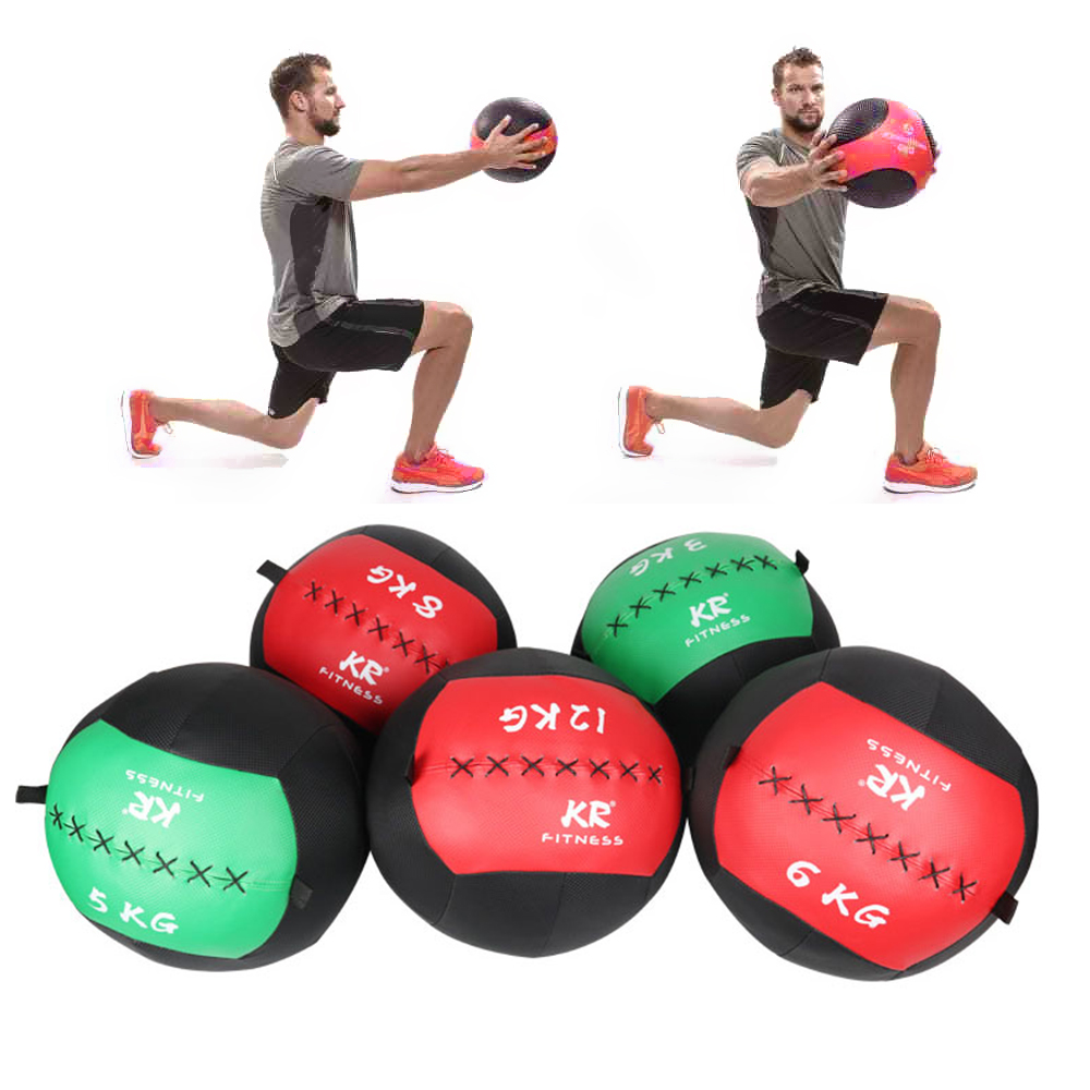 Medicine Balls Empty Snatch Wall Balls Power Bag Heavy Exercise Kettlebell Lifting Fitness Muscle Building