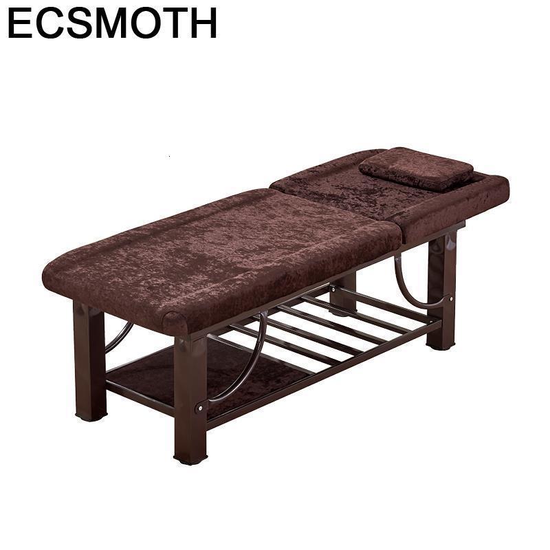 Meubles De beauté Cadeira Massagem De Cama Plegable Camilla Para Masaje Envio Gratis chaise De Salon pliante Table lit De Massage