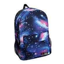Boy Backpack Printing Casual Canvas bag Galaxy Stars Universe Space School Book Bags School Backpacks for Teenagers harajuku purple star galaxy printing backpacks women men school bag boy girl casual drawstring bag