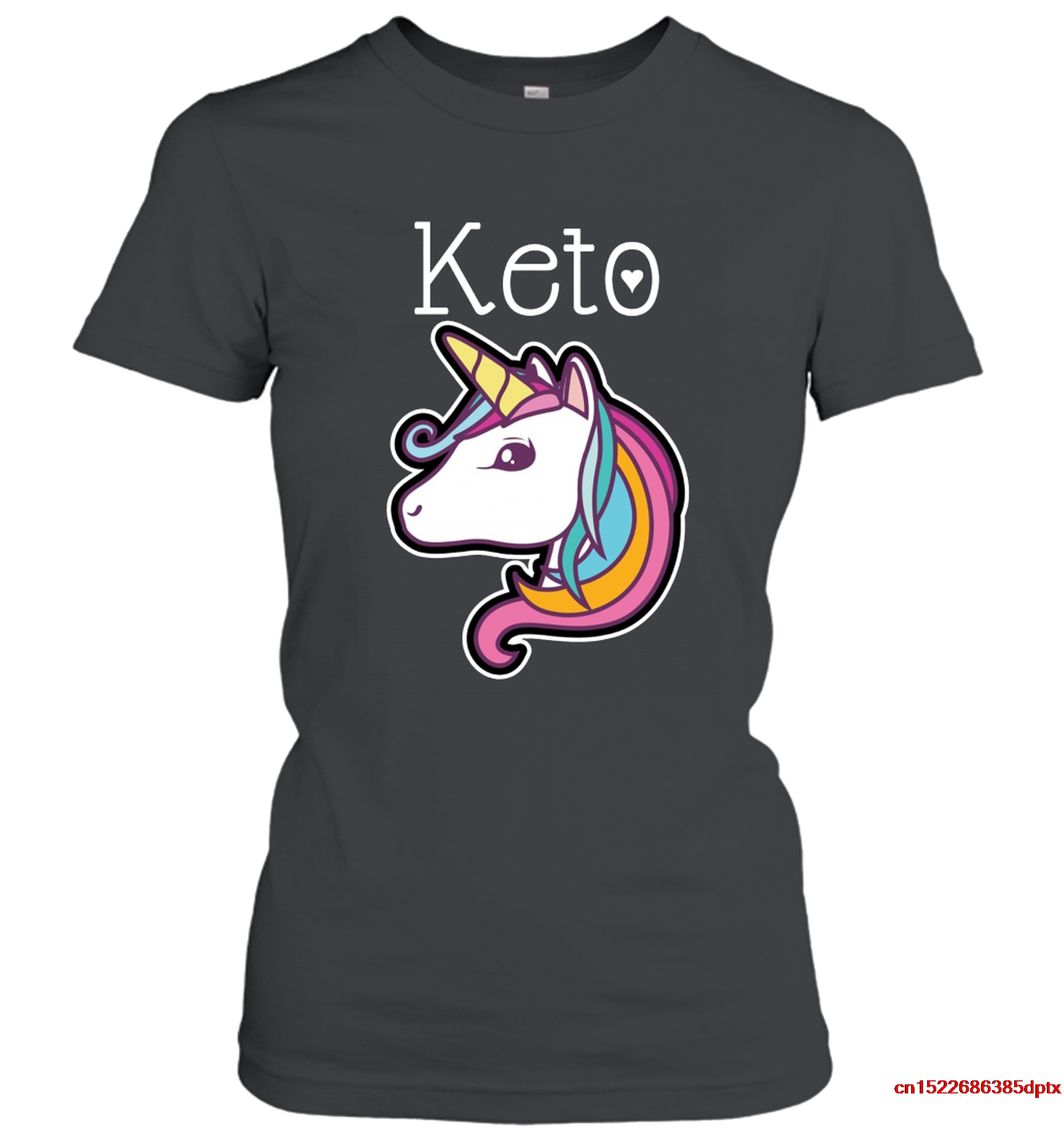 man's t-shirt Keto Unicorns Are Real T Shirt T-shirt 2855 women shirt