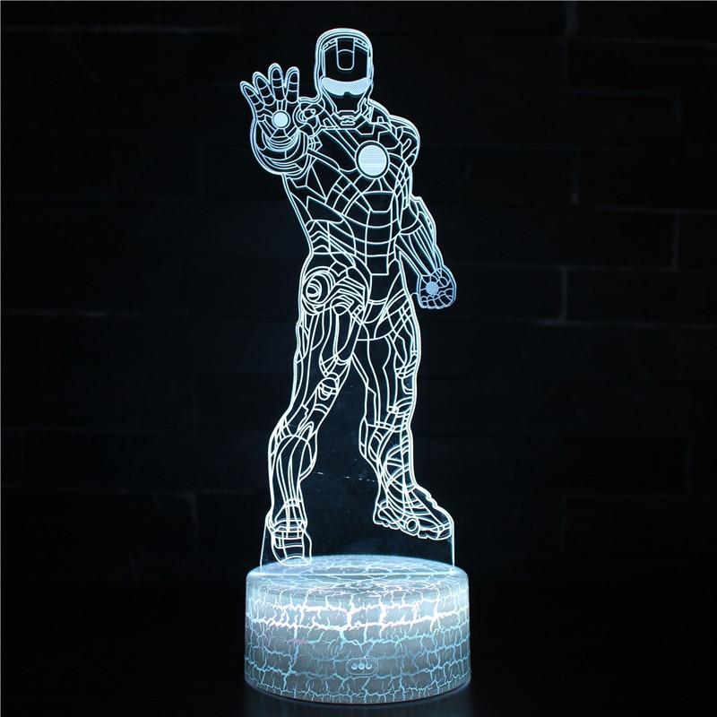 armadura, homem de ferro, lâmpada de mesa