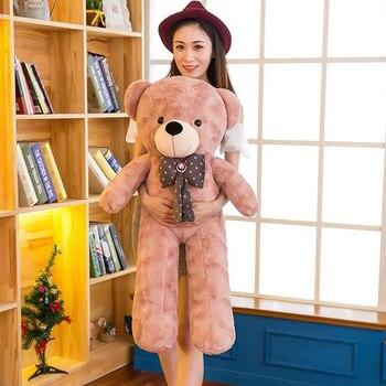 Giant Teddy Bear Plush Toys Soft Bears Toy Lovers Tie Gifts Ted Dolls with Tie Kawaii Teddy Bears Stuffed Plush Teddy-Bear DJD07