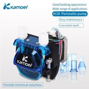 Image 3 - Kamoer KCM 12V/24V  Peristaltic  Water Pump With Stepper Motor and BPT/Silicon Tube Support Self Priming