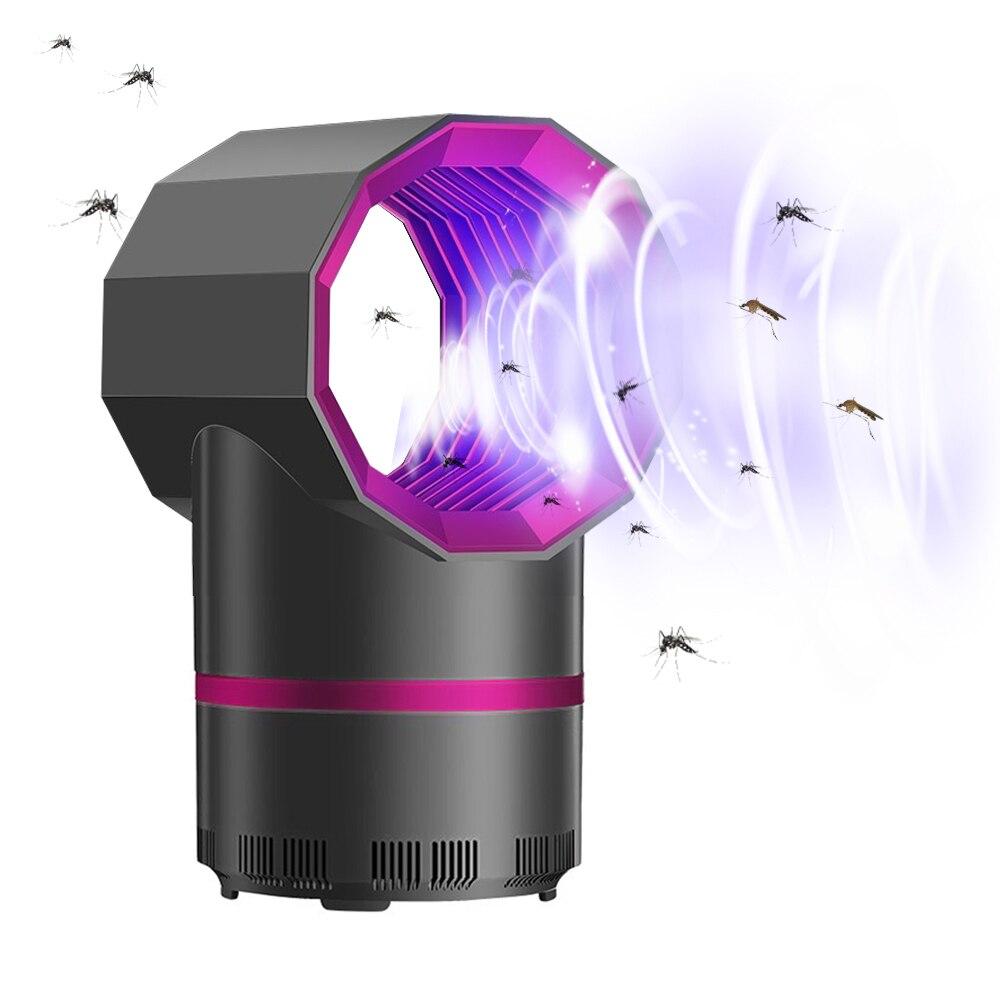 USB 5V Home Efficient Mosquito Killer Lamp Insect Killer Zapper Electric Mata Mosquito Trap Photocatalysis UV Light Repellent