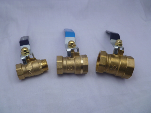 Brass Ball Valve Double Internal Thread Ball Valve Traffic Control Valve DN15 DN20 DN25 4 Hours And 6 Hours 1-Inch Outside